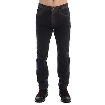Gray Wash Regular Cotton Denim Jeans SIG17958-1
