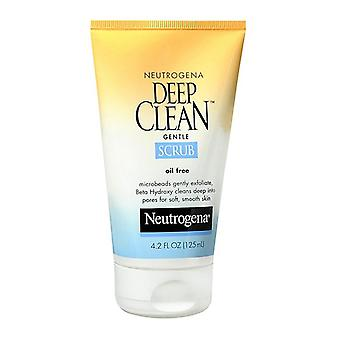 Neutrogena deep clean gentle scrub, oil free, 4.2 oz *