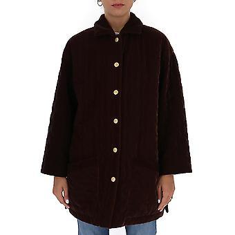 L'autre Koos B158046131au870 Women's Brown Wool Coat