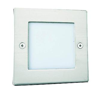 Searchlight Ankle - LED Square Outdoor Walkover Ground Light White IP54