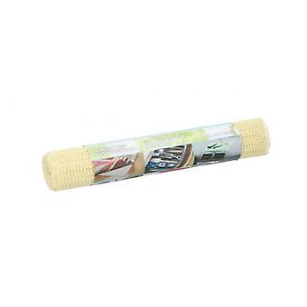 non-slip mat 30 x 150 cm PVC yellow