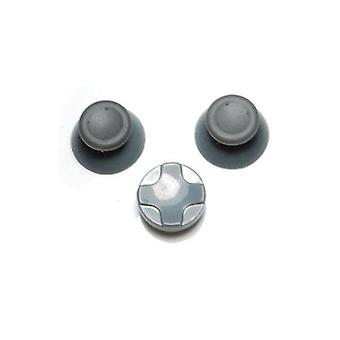 Zedlabz concave analog thumbsticks grip sticks & d pad mod kit for microsoft xbox 360 - grey