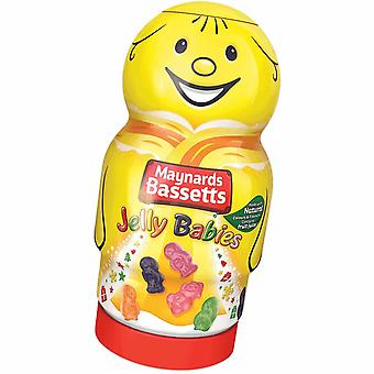 Maynards Bassetts Jelly Babies Gift Jar 495g