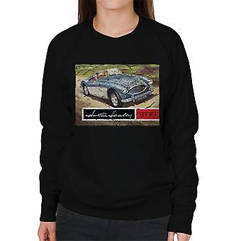Austin Healey Country Road British Motor Heritage Women's Sweatshirt