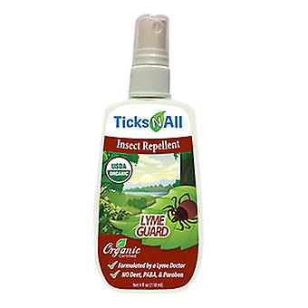 Ticks-N-All Insect Repellent, Lyme Guard 4 Oz
