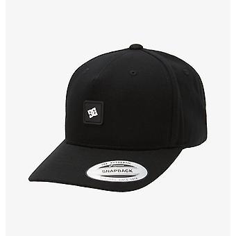 DC Shoes Mens Snapback Cap ~ Snapdripp2 negro
