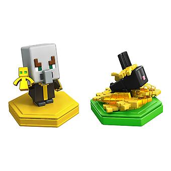 Official Minecraft Earth Boost Genoa 2 Pack Undying Evoker and Snacking Rabbit