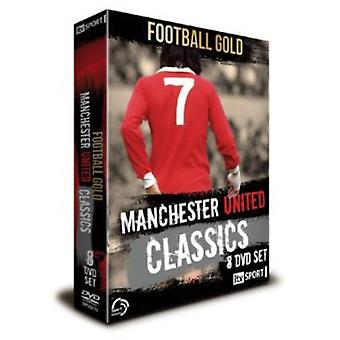 Fodbold Gold Manchester United Classics [DVD] USA import