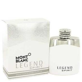 Montblanc Legend Spirit By Mont Blanc Eau De Toilette Spray 3.3 Oz (men) V728-533327
