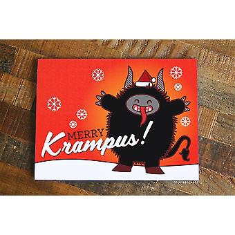 بطاقة عيد الميلاد ميري كرامبوس