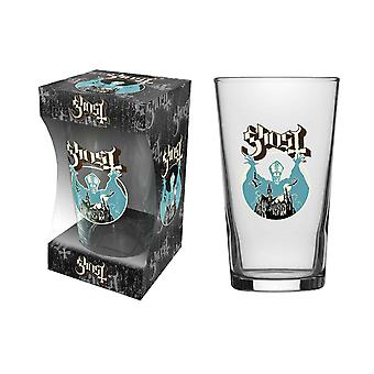 Ghost Pint Glass Opus Eponymous Papa Band Logo new Official White