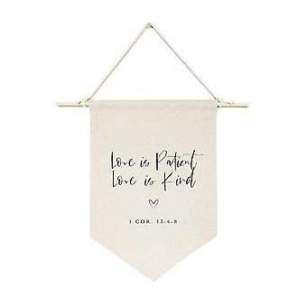 Cotton Canvas Scripture, Hanging Wall Banner
