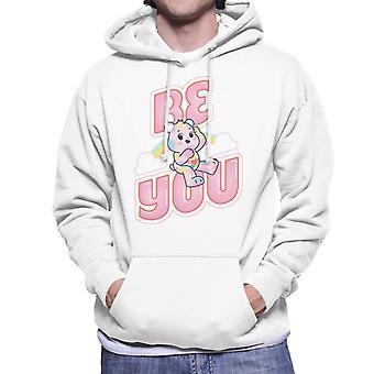 Care Bears Unlock The Magic Be You Men's Hooded Sweatshirt