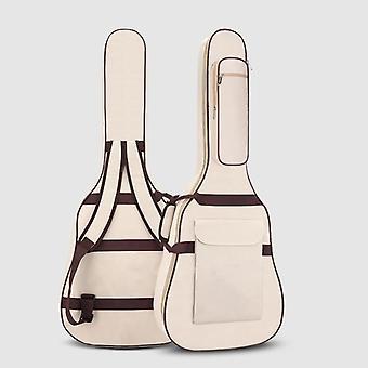Vedenpitävä Kansi Double Shoulder Carry Case Reppu, Kitara laukku