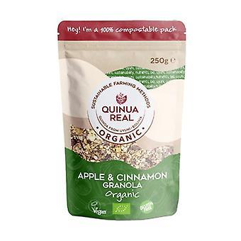 Organic gluten-free real quinoa granola with apple and cinnamon 250 g
