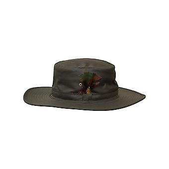 Walker and Hawkes - Unisex Wax Wide Brim Hat
