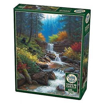 Cobble hill puzzle - mountain cascade