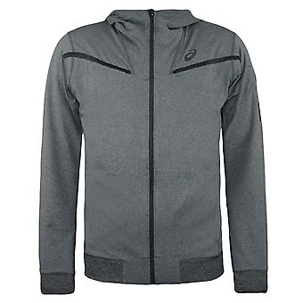 Asics Herren FZ Hoodie Sport Training Running Top Grey 125059 0773