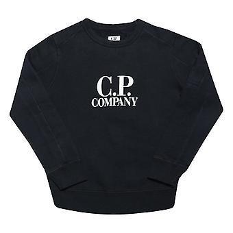Boy's C.P. Company Junior Crew Sweat in Blue