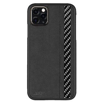 Iphone 11 Pro Max Alcantara & Real Carbon Fiber Case | Classic Serie