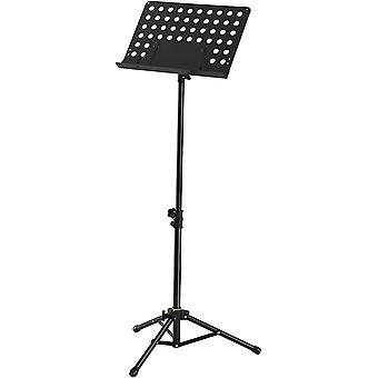 FITUEYES Music Stand,Height & Angle Adjustable Orchestral Conductor Sheet Stand and Music Sheet