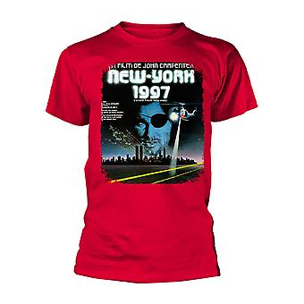 Escape From New York Français Poster Red Official Tee T-Shirt Unisex