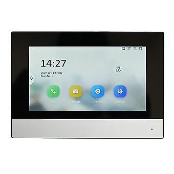 Indoor Monitor, Poe App Hik-connect, Wifi, video Intercom