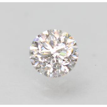 Sertifioitu 0,51 karaatin D SI1 pyöreä loistava parannettu luonnollinen loose diamond 4,94 mm