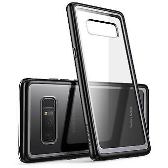 I-Blason Selkeä Halo-sarja Samsung Galaxy Note 8 Hybrid Bumper Case-Black
