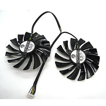 6-pin Graphics, Video Card, Cooler Fan For Msi/ Gtx, Gaming Dual-fans, Twin
