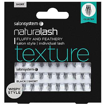 Salon System Naturalash Individual Lashes - Texture Cluster Short - Wispy Style