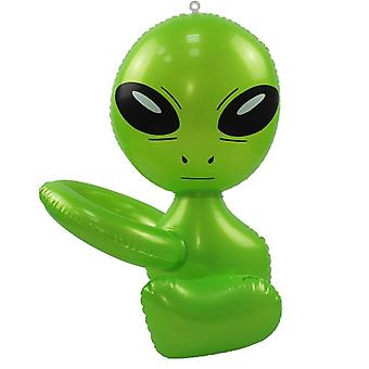 Alien Inflatable Green Doll