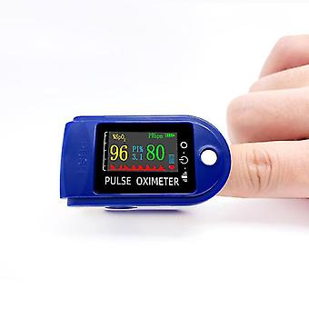 Pulse Oximeter Fingertip,blood Oxygen Saturation Monitor With Lanyard