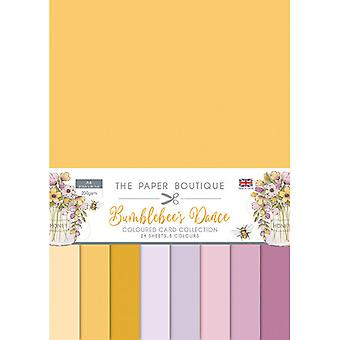 The Paper Boutique - Bumblebee's Dance Collection - A4 Colour Card Collection