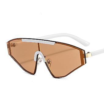 Occhiali da sole sportivi con archi triangolari in più colori UV400