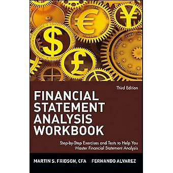 مصنف تحليل البيان المالي - تمارين خطوة بخطوة و Tes