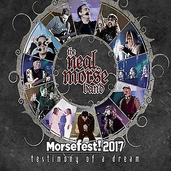Neal Morse Band - Morsefest 2017: The Testimony of a Dream [Blu-ray] USA import
