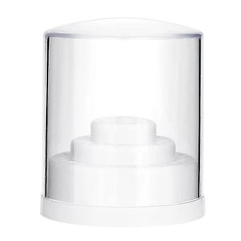 Brocas de arte de uñas vacías soporte de soporte de caja de almacenamiento exhibición contenedor manicura