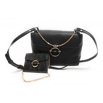 Liu-jo Crossbody S Shoulder Bag With Black Clutch Bs21lj62 Aa1161