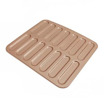 Lighting Puffs Mode Non-stick 14 Strip Finger Biscuit Mold Baking Mold