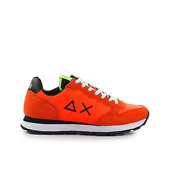 Sun68 Tom Solid Nylon Fluo Orange Sneaker