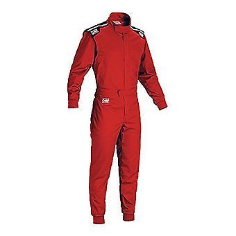 Detské pretekárske jumpsuit OMP Summer-K červená (140 cm)