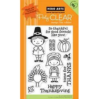 Hero Arts So Thankful Clear Stamp
