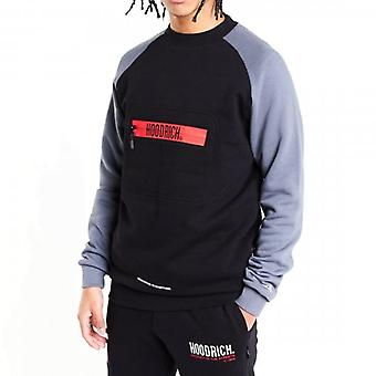 Hoodrich OG Ancillary V2 Crew Neck Sweatshirt Black/Grey/Red