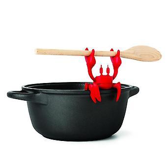 Ototo lobster spoon holder & steam releaser