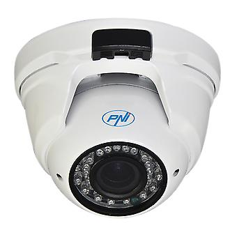 Camera surveillance camera PNI House IP2DOME 1080P with IP varifocal 2.8 - 12 mm indoor and outdoor dome