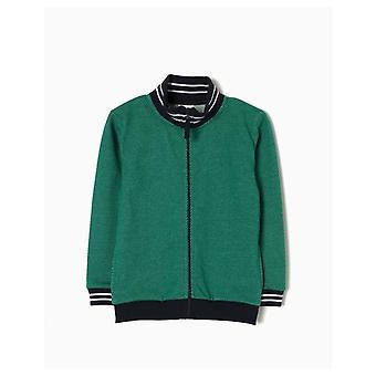 Zippy Grön Fluff Coat