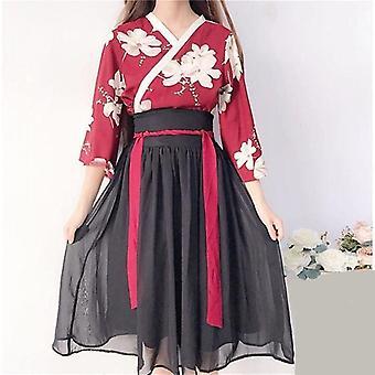 女性フォーラル着物ドレス