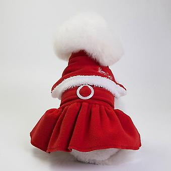 Dog cat clothes autumn and winter clothes christmas festival clothing