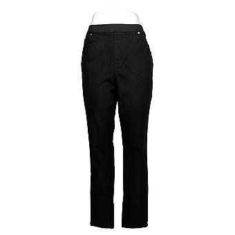 belle af Kim Gravel Kvinders Jeans Flexibelle Pull-On Jegging Black A368550